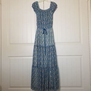 Juicy Couture Maxi Dress Paisley Print S